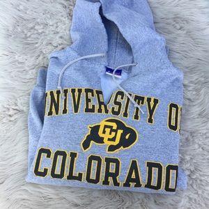 University of Colorado hoodie sweatshirt
